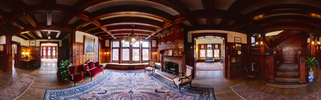 Graystone Manor 360 degree immersive image. I know, you've just learned about these, we've been creating them for decades.